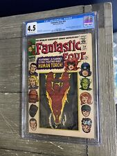 Fantastic Four #54 CGC 4.5 Black Panther and Inhumans appearance **READ**