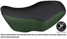BLACK & D GREEN VINYL CUSTOM FITS KAWASAKI PRAIRIE KVF360 4X4 02-13 SEAT COVER