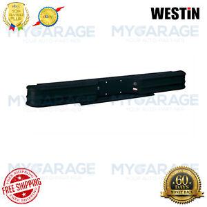Westin Fey Diamondstep Rear Bumper - Black Powder Coated Steel 61000