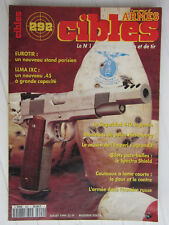 CIBLES N° 292 /Llma IXC .45/Seguridad 410 argentin/armée russe/gilet pare-balles