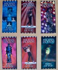 MICHAEL JACKSON THIS IS IT Rare Undistributed AEG Hologram 6 Concert Tickets