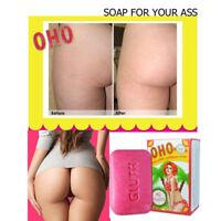 OHO Clear dark spot soap,rough skin bikini,whitening with collagen,Gluta 100g.