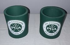 1986 PGA GOLF CHAMPIONSHIP INVERNESS CLUB TOLEDO OHIO CAN COOZIE HOLDER LOT OF 2