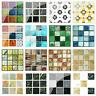 20pcs PVC Waterproof Mosaic Tile Wall Sticker Kitchen Tiles Decals Decor