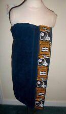 Ladies  Bath Towel Wrap Steelers Football Team  50x 30