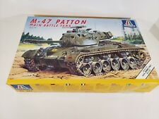 Complete 1994 Italeri 265, 1:35, M-47 Patton Main Battle Tank, NEU, OVP, Rarität