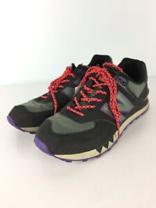 New Balance Used Low-Cut Sneakers/Multicolor/Leather/Ml574Nfq Shoes