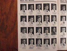 1987  Ottawa University Football  Guide(58 Signed/w/GLENN  PERCY/STEVE  SHELTON)