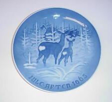 Bing & Grondahl Bringing Home Christmas Tree Plate Copenhagen