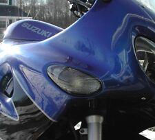 schwarze Blinker Frontblinker Suzuki GSX 600 F AJ GSX 750 F AK  smoked signals