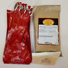 VENISON BOLOGNA KIT MAKES 25 LBS INCLUDES SEASONING, RED PRINTED CASINGS, CURE