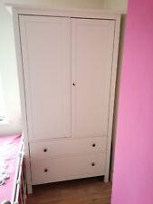 Ikea Hemnes White Wardrobe
