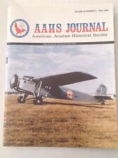 AAHS Journal Airplane Magazine Arlington Sisu 1A Fall 2004 121316rh