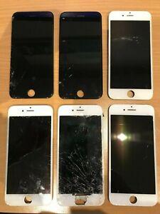 Lot d'écrans iphone hs