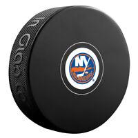 New York Islanders NHL Team Logo Autograph Souvenir Hockey Puck