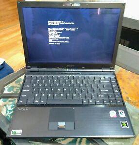 Sony VAIO PCG-6W1L 2GB RAM no HDD WIFI BIOS TESTED