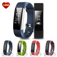 Fitness Tracker Smart Watch Bracelet Wristband Heart Rate Monitor Blood Pressure