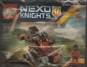 LEGO: NEXO KNIGHTS - THE LAVA SLINGER - COMPLETE SEALED KIT [Nn2]