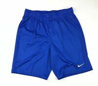 New Nike Performance Park II Soccer Game Short Men's M $22 Royal Blue 898012
