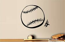 "Baseball Vinyl Wall Decal Home Décor 12"" x 15"""