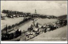 JOHANNGEORGENSTADT Erzgebirge Sachsen um 1925 Teilansicht Häuser Partie Winter