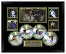 SLIM DUSTY LIMITED EDITION SIGNED FRAMED WITH CD'S MEMORABILIA #2