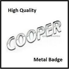 Cooper Badge Emblem Decal Letters Sticker Mini Boot Lid Tailgate Rear Trunk T37