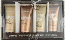 Frye & Co spiced sandalwood bath set shampoo conditioner body wash lotion NEW