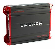 Crunch 1200 Watt 4 Channel Amplifier Car Audio Class A/B Power Amp | PZX1200.4