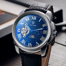 Tevise Men Tourbillon Automatic Mechanical Watch Orologio Automatico Uomo