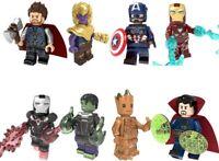 Marvel Thanos Avengers Iron Man Thor Doctor Strange Hulk Captain America Groot
