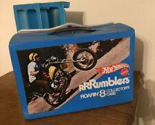 Vintage/Collectible Hotwheels RRRUMBLERS Roarin' 8 COLLECTOR'S Case -NICE!