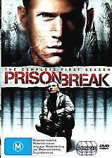 Prison Break : Season 1 (DVD 6-Disc Set) Region 4 Very Good Condition
