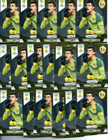 (17) 2014 Prizm WORLD CUP SOCCER CARDS LOT #18 Thibaut Courtois 1st CHELSEA! 🔥