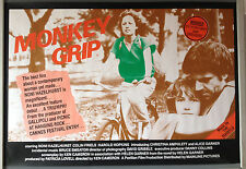 Cinema Poster: MONKEY GRIP 1982 (Quad) Ken Cameron Noni Hazlehurst Colin Friels