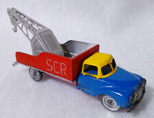 VINTAGE RARE Tin Toy ✱ TOW TRUCK ✱ Blechspielzeug Portugal 60´s