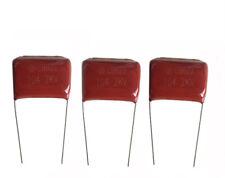 10PCS Metallized Film Capacitors CBB22 104J 2kV/2000V 0.1uF 0.1mfd P=27mm