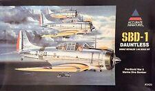 Accurate Miniatures Douglas Spd-1 Dauntless Marine Dive Bomber 1/48 3420