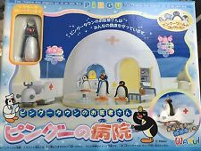 Pingu. Hospital Playset. Wakui Pal Box. Extremely Rare!!! Brand New In Box.