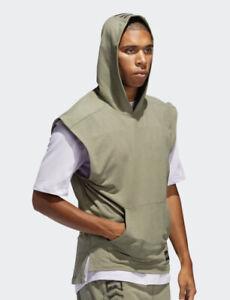 Adidas Men's Aeroready TKO SL Hooded Shirt Sz. XL NEW FJ5128.