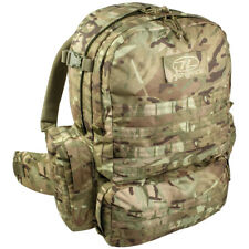 Highlander M.50 Pack Army Backpack Military Hiking Rucksack MOLLE 50L HMTC Camo