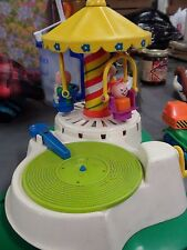 Vintage Fisher Price Little People Musical Merry Go Round & More