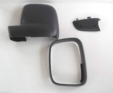 VW Transporter T5 + Caddy wing mirror trim kit PASSENGER SIDE 3 PLASTIC CASINGS