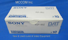 Sony PDP-95C Digital Audio Tape Qty 10 New w/ original box