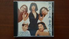 Matia Bazar – I Grandi Successi CD Italy GA130303 Vacanze Romane Solo Tu