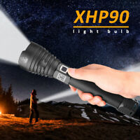 2019 Super Bright XHP90 xhp70.2 most powerful led flashlight usb Zoom torch NEW