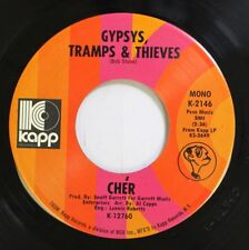 Rock 45 Cher - Gypsys, Tramps & Thieves / He'll Never Know On Kapp