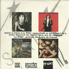 Pack 3 45 tours Collectors - STAR-T Vol. 1, 2 et 3 -Patti Smith, Pasadenas...