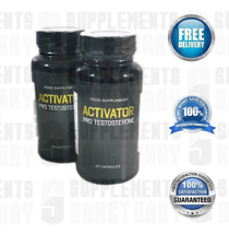 Activator Pro Testosterone 120 Capsules New Sealed in 2 Bottles