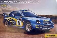 Heller 1/24 Subaru Impreza WRC 01 # 80761